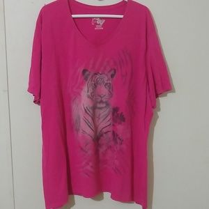 Just my size tiger pink T-shirt